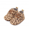 Leren babyschoenen panter medium